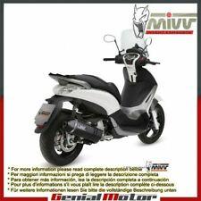 Scarico Completo MIVV Speed Edge Nero Piaggio Beverly 350 2013 > 2016