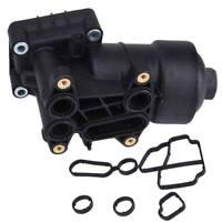 FOR VW Passat CC Golf Jetta Eos Oil Filter Housing w/ Cap + Gasket 03L115389C