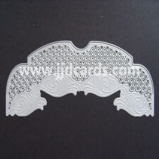 Britannia Dies Set of 3 Lattice Edge Dies Cardmaking and Scrapbooking