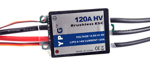 YPG HV 120A ESC (4~14S) SBEC Brushless Speed Controller Trex 700 Helicopter NEW