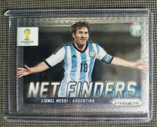 2014 PANINI PRIZM WORLD CUP SOCCER Lionel Messi Argentina Net Finders  No.2