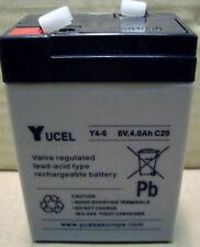 Batterie ricaricabili 4,5 Ah 6 V per articoli audio e video