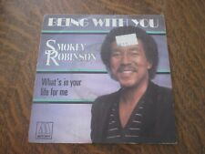 45 tours SMOKEY ROBINSON being with you