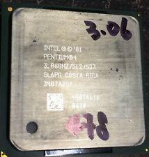 Intel Pentium 4  3.06GHz/512/533 SOCET 478 Processor CPU
