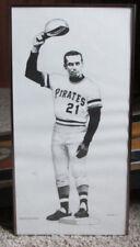 Vintage Roberto Clemente Framed Print Pirates Buccos Rare Sweet Item Here