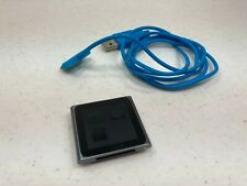 Apple iPod Nano 6th Generation 8GB Graphite with Charging Cord