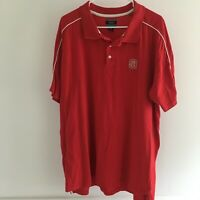 NC State University Wolfpack Short Sleeve Polo Shirt Red Mens XL J. America