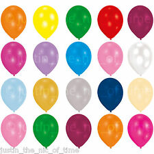 "10x QUALITY LATEX BALLOONS 9"" WEDDING  CHRISTENING BIRTHDAY BBQ GARDEN PARTY"