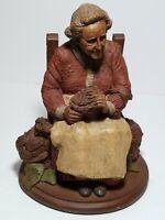 "Tom Clark Gnome ""Mabel"" 1984 - Edition #90 - Retired Carin Studio 8"" Sculpture"