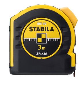 Stabila Tool Pocket Tape 3m Measure Metric Scales BM 40