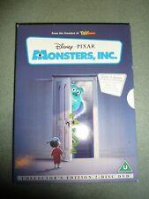 MONSTERS, INC. DISNEY DVD 2 DISC SET IN SLIP CASE