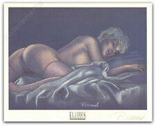 Ex-libris Renaud Jessica Blandy Cuba Signé 20,4x25,4 cm