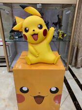 "18""Pokemon Godio Pikachu 1/1 Full Body Image Figure PVC Statue Birthday Kid Gift"