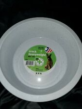 "Van Ness Crock Heavyweight Dish Large 8.5"" Diameter 52oz Bowl for Dog, Cat Other"