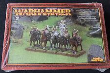 Games Workshop Warhammer Warriors of Chaos Marauder Horsemen Regiment Metal OOP