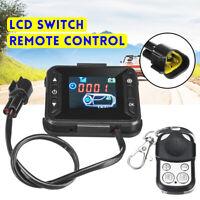 LCD Interruttore+Telecomando 12V Per Diesel Air Heater Riscaldatore Auto Camion