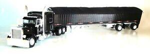 DCP BK PETERBILT 389 70 RAISED ROOF 50 HIGH SIDE SPREAD AXLE GRAIN 60-0804 1/64