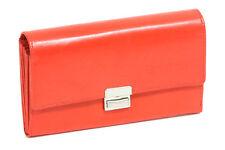 Portamonete Rosso Cameriere Borsa tassista Borsa Trucker LEAS in vera pelle-