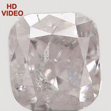 Natural Loose Diamond Cushion I2 Clarity Grey Color 2.80 MM 0.14 Ct N5372