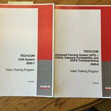 Case International IH TECH-COM CAN System & ADVANCED FARMING DGPS GUIDE MANUAL