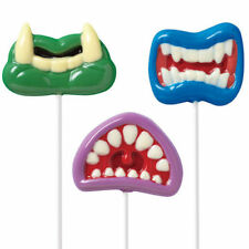 Wilton Monster Mouth Lollipops Mold Mould - Monster Chocolate Halloween Mold