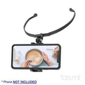 tzumi Motion Mount Universal Phone Holder for Point-of-View Recording (7969)