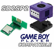 SD2SP2 L Gamecube SD microSD adapter, Gameboy Player compatible, easy access