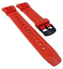 Casio Correa de Reloj Aus Resina Rojo G-Shock AQ-S800W