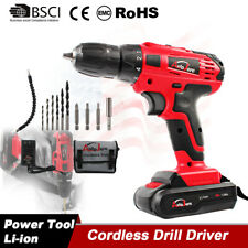 Cordless Drill Kit Driver Portable Electric Power Drill Tools 18V 20V battery