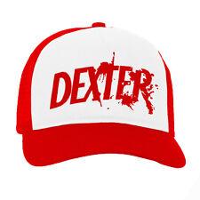 Dexter sangue logo serie tv statunitense adulto rosso Baseball Cap Camionista