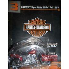 Moto Harley Davidson FXDWG Dyna Wide Glide 1997 +fas.3  MODELLINO DIE CAST 1:18
