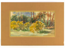 Small (up to 12in.) Modern (1900-1979) Date of Creation Impressionism Art Paintings