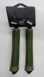 ODI Flangeless Grips BMX Soft Longneck 160 mm Red ,  Grey , Blue or Green