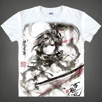 Anime Dororo Hyakkimaru Unisex T-shirt Cosplay White Tee Otaku S-3XL#AL1868