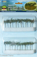 "JTT Scenery Products #95517 (HO Scale) Apple Tree Saplings (12) 1- 3/8"" Height"