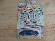 Hot Wheels The Cars of the Decades, The 40's, 1947 Chevy Fleetline
