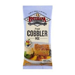 Louisiana Fish Fry Products Fruit Cobbler Mix