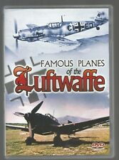 FAMOUS PLANES OF THE LUFTWAFFE - UK DVD - 98 mins - VGC