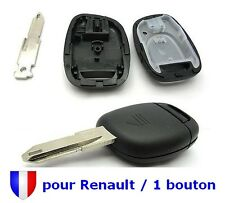 Coque Plip Boitier Télécommande Clé pour Renault Clio Twingo Scenic 1 Bouton