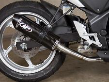 M4 Exhaust Honda CBR250 2011-2014 Standard slip on system with CARBON muffler