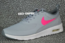Nike Air Max Thea GS 814444-002 Girls Youth Wolf Grey Hyper Pink White NEW SHOES