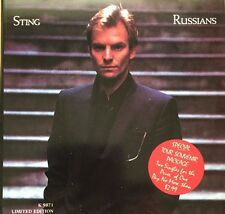 45 Sting Russians Special Australian Tour Package 2 x 45 Gatefold Cover EXC