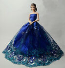 Fashion Party Princess Dress Wedding Clothes/Gown For 11.5 inch Doll #22