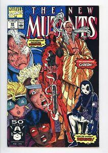 New Mutants #98 Vol 1 Near Perfect High Grade 1st Appearance of Deadpool