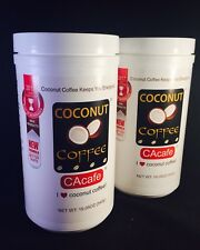 2 Pk CAcafe Coconut Coffee 19.05 oz