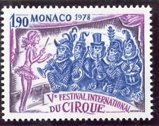 STAMP / TIMBRE DE MONACO  N° 1170 ** LE CIRQUE / SINGES