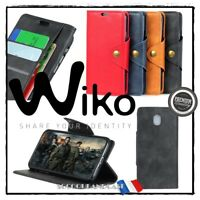 Etui Coque housse Cuir PU Leather Stand Wallet Case Cover Wiko Jerry 3