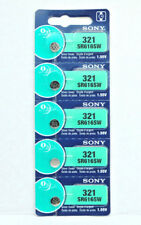 5x SONY 321, SR616SW Alkaline Battery MADE IN JAPAN EXPIRY 06/2020 or later MELB