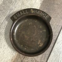 Vintage Brass Small Change Pocket Change Dish Coin Tray Holder
