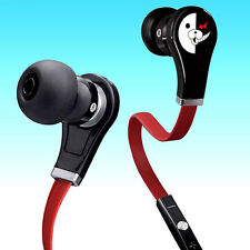 Anime Danganronpa In-ear Earphones Stereo Headphones Earbuds Mic Headset Gift